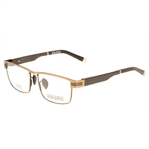 Золотые мужские оправы Enni Marco модель IV 42-005 02