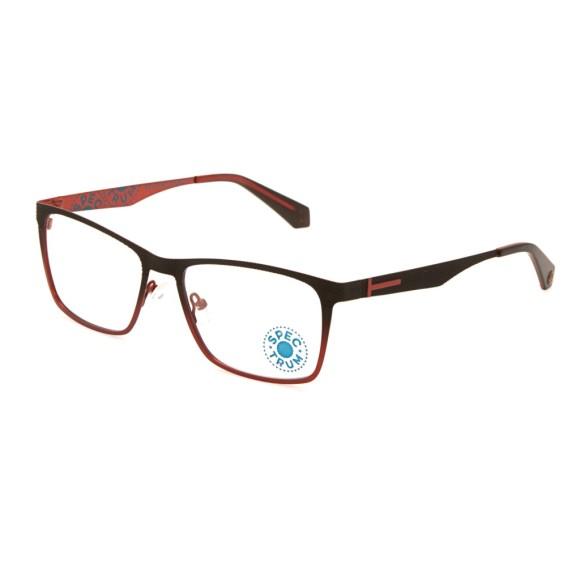 Красные мужские оправы Enni Marco модель IV 56-005 17