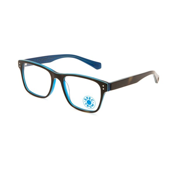 Синие унисекс оправы Enni Marco модель IV 56-008 19P