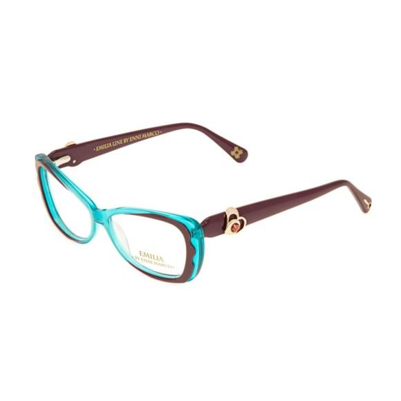 Голубые женские оправы Enni Marco модель IV 62-012 13P
