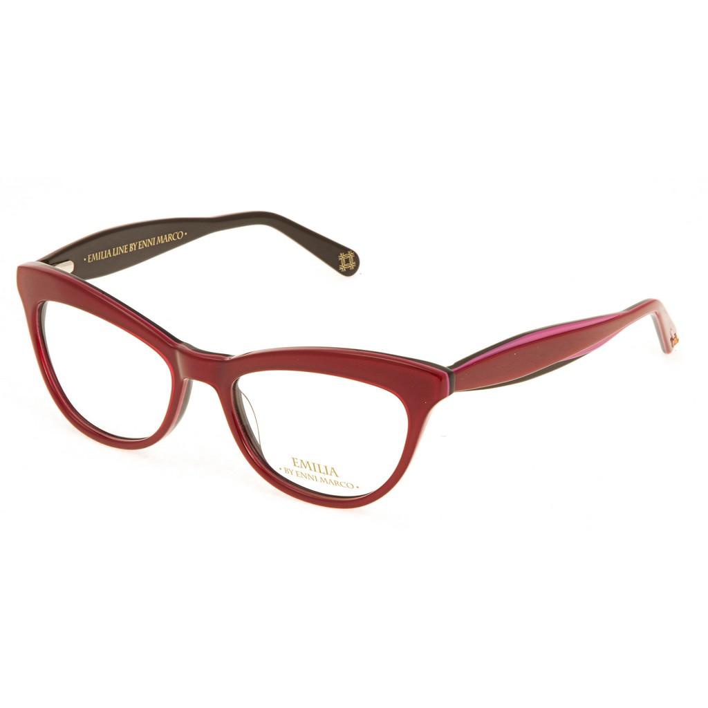 Красные женские оправы Emilia Enni Marco модель IV 63-002 22P