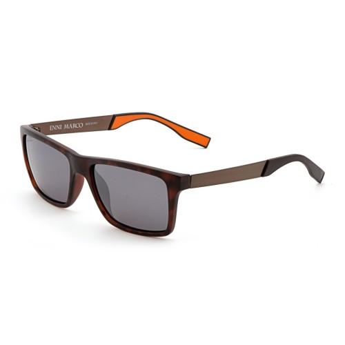 Коричневые мужские солнцезащитные очки Enni Marco модель IS 11-361 08P