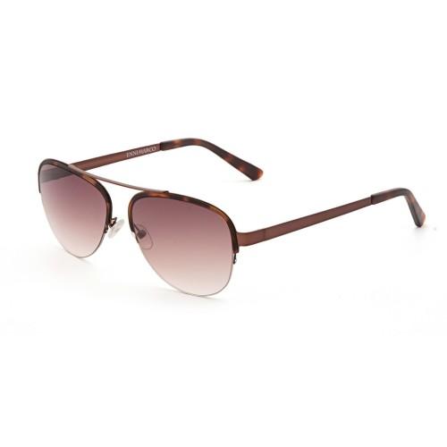 Коричневые унисекс солнцезащитные очки Enni Marco модель IS 11-386 50P