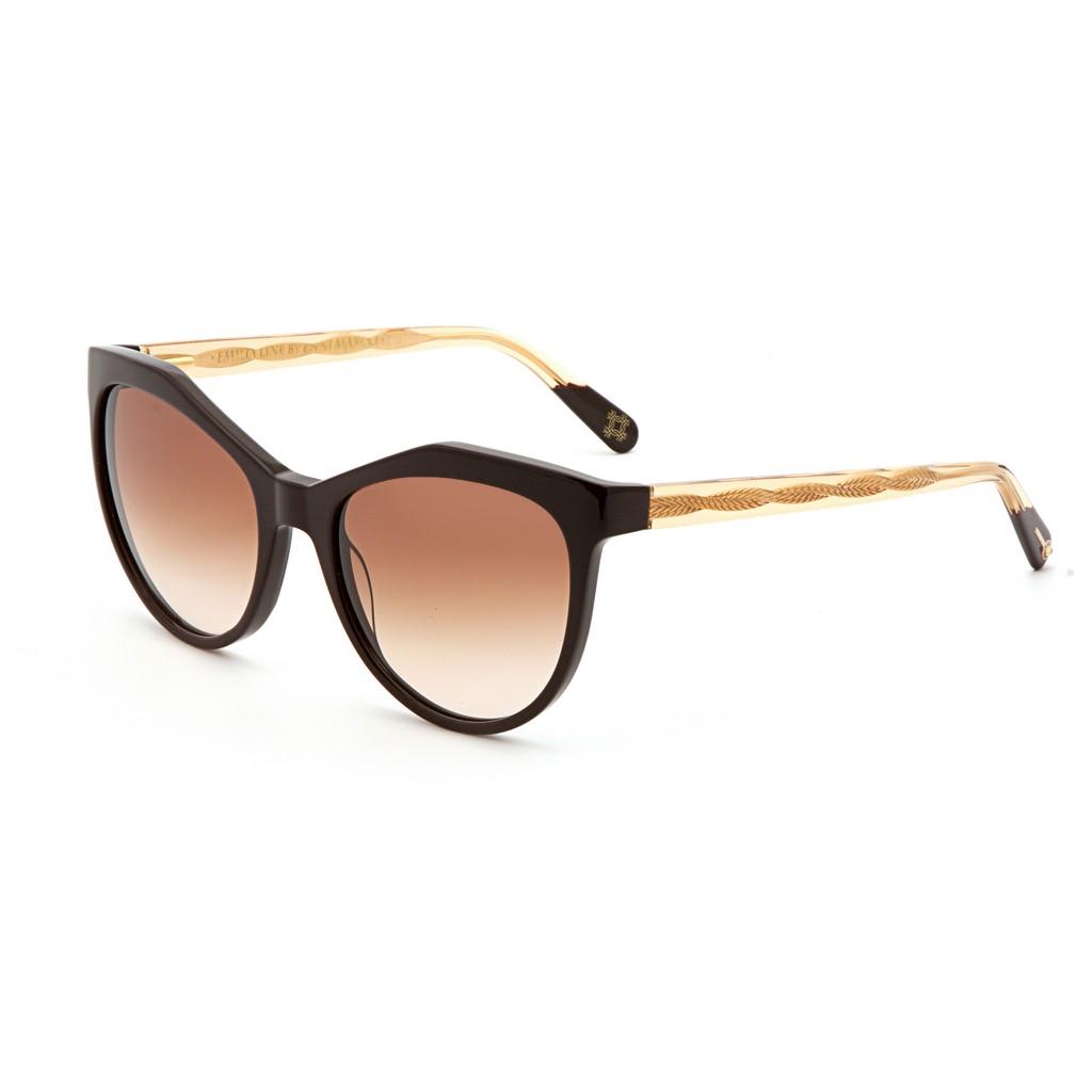 Черные женские солнцезащитные очки Enni Marco модель IS 11-393 07P