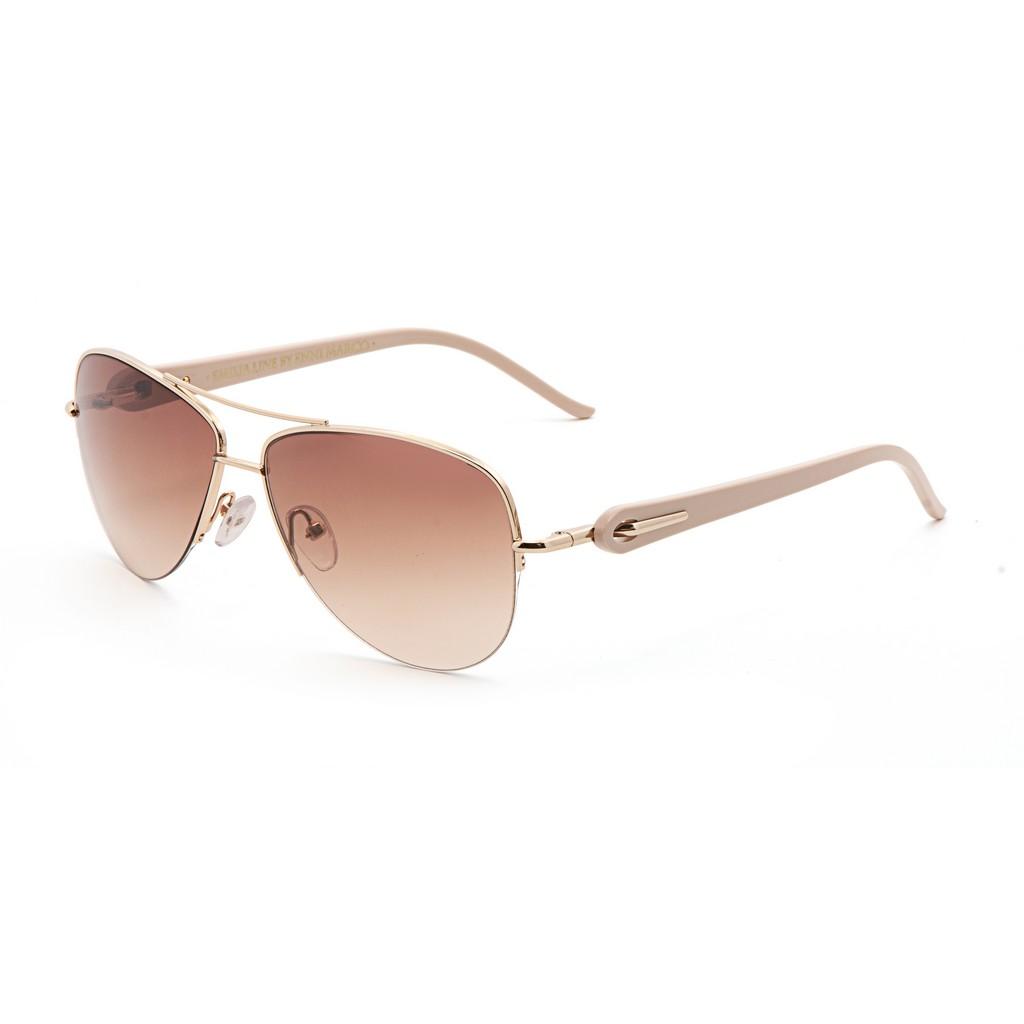 Бежевые женские солнцезащитные очки Enni Marco модель IS 11-394 02