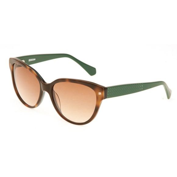 Зеленые женские солнцезащитные очки Enni Marco модель IS 11-332 08P