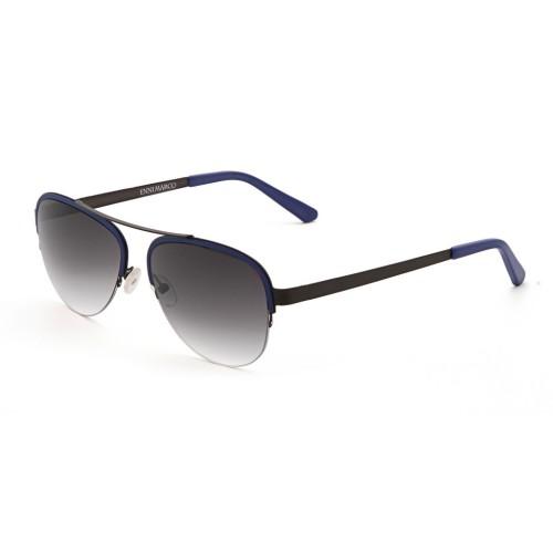 Синие унисекс солнцезащитные очки Enni Marco модель IS 11-386 20P