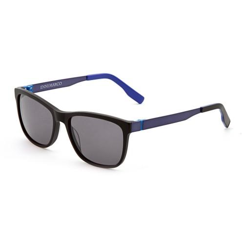Черные унисекс солнцезащитные очки Enni Marco модель IS 11-387 18P
