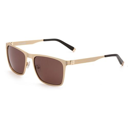 Золотые мужские солнцезащитные очки Enni Marco модель IS 11-390 02