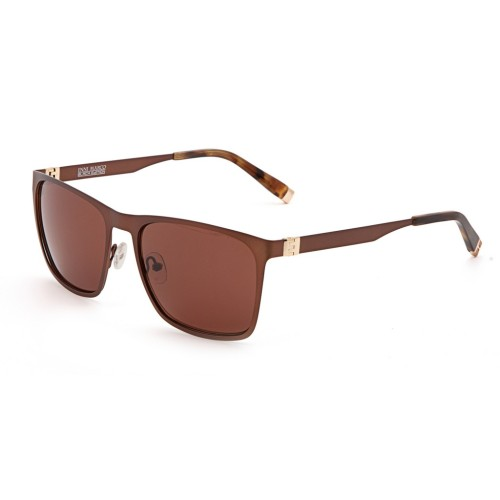 Коричневые мужские солнцезащитные очки Enni Marco модель IS 11-390 08